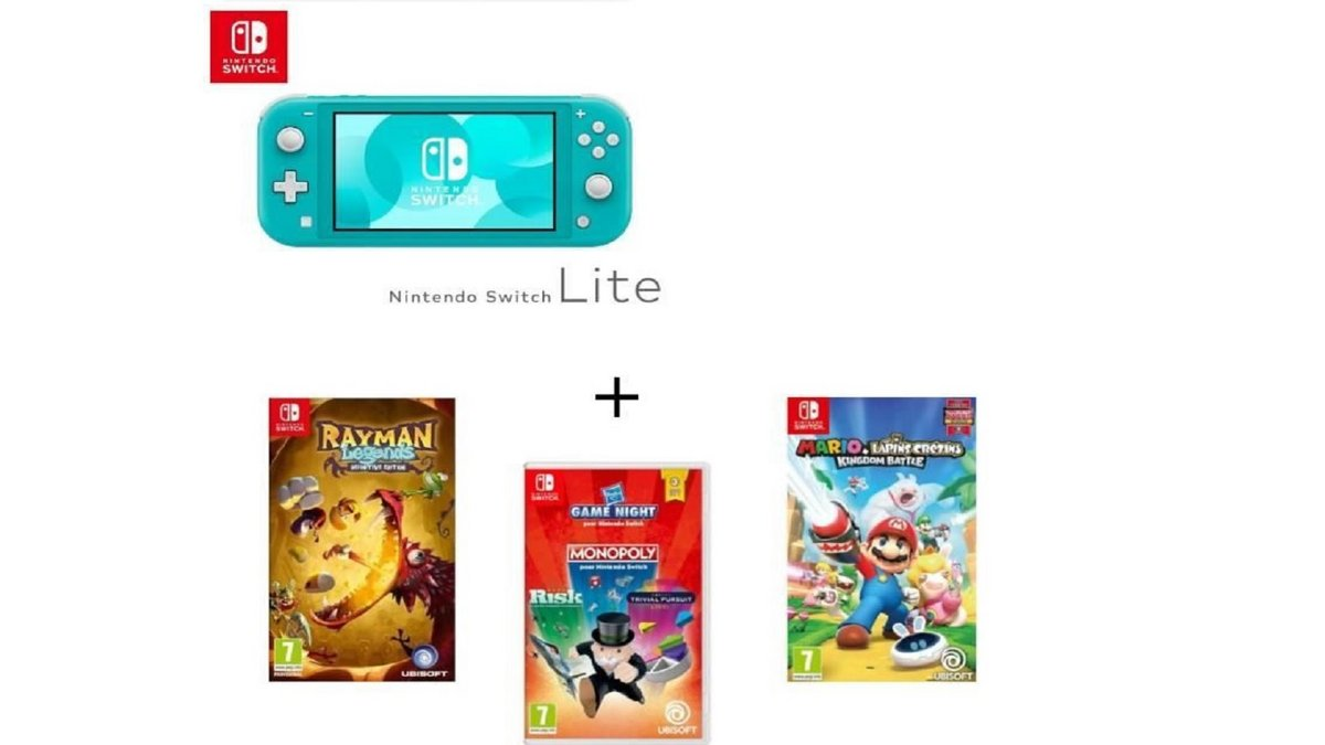 Nintendo Switch Lite pack