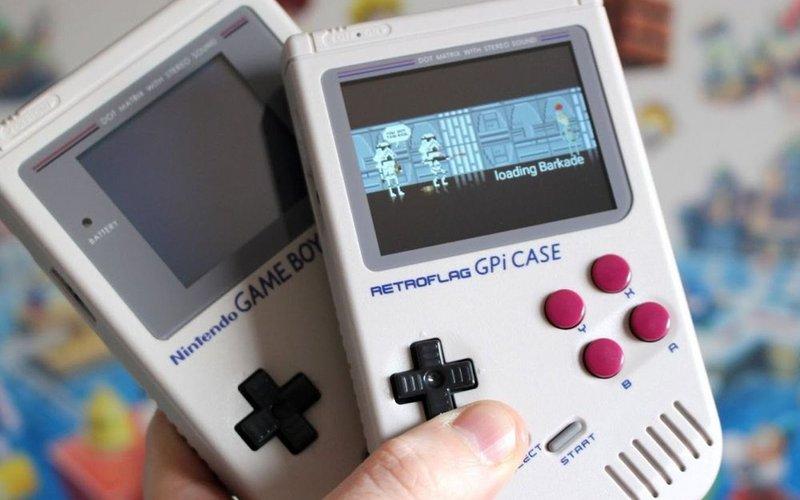 Test Du Gpi Case Game Boy Wi Fi Et Station D émulation