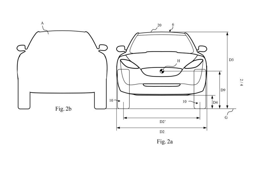 Dyson voiture électrique - plan profile