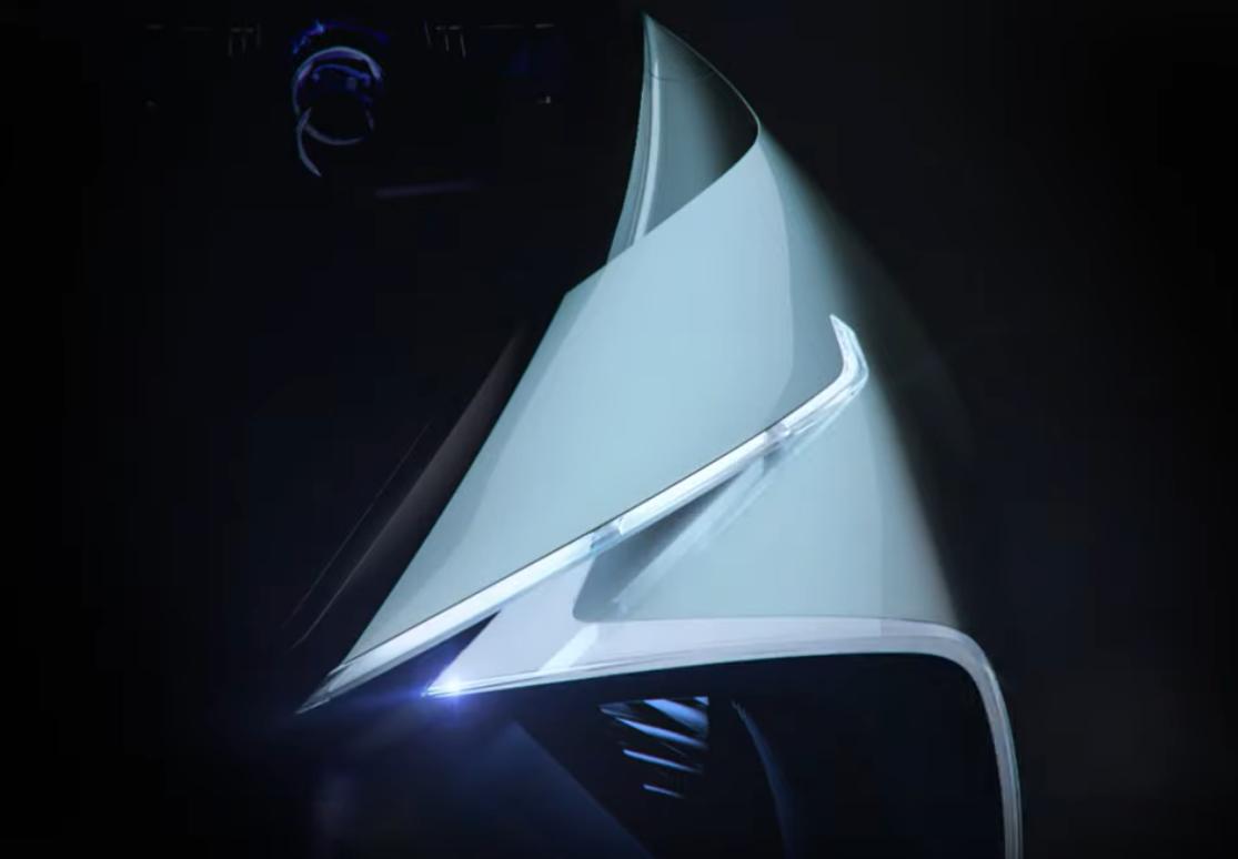 Lexus voiture électrique