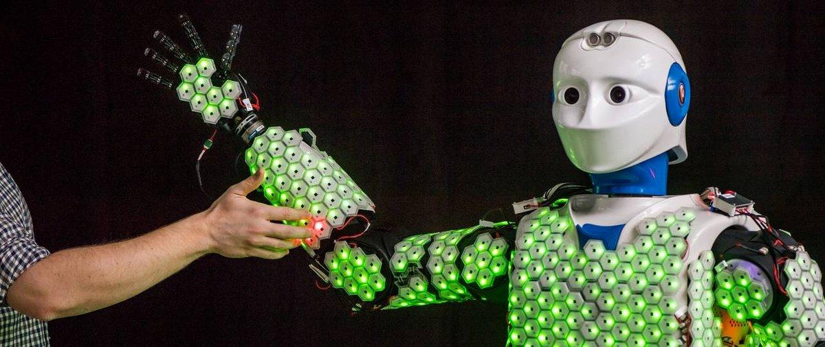 robot peau synthétique capteurs