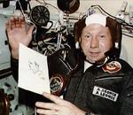 Le cosmonaute Alexei Leonov, premier