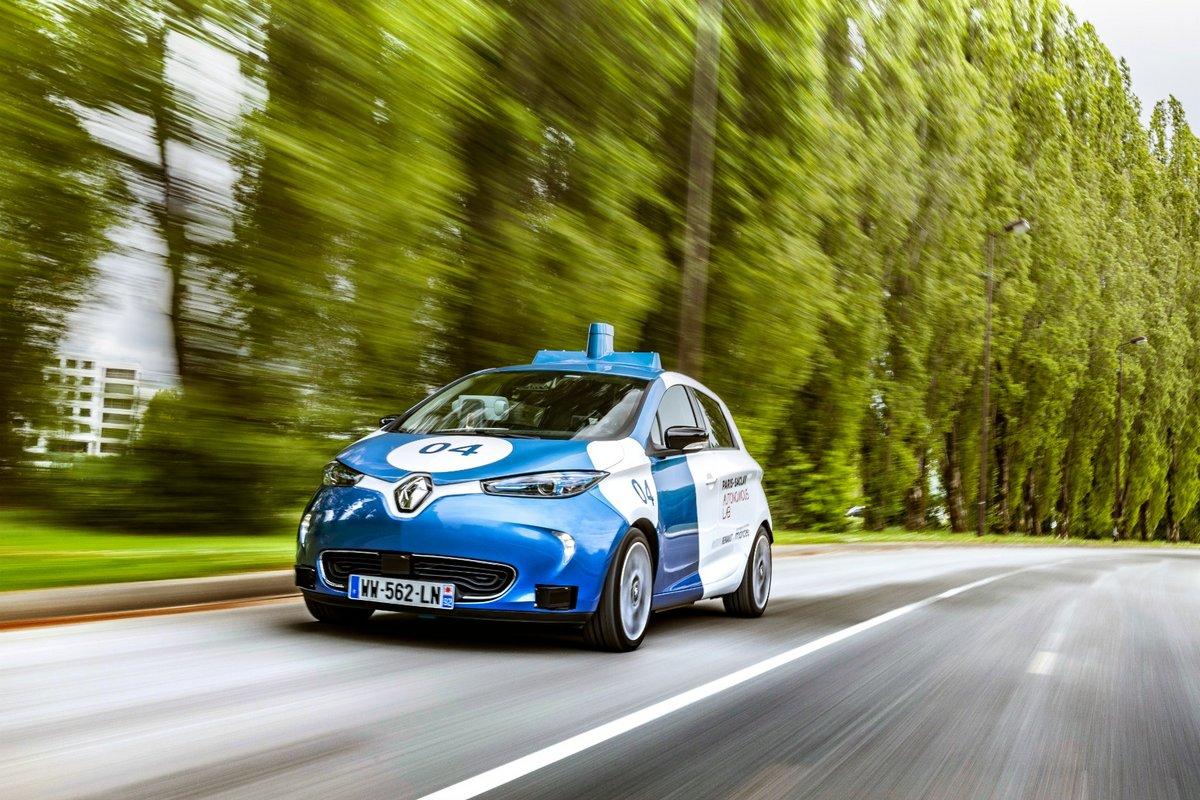 Renaut Waymo voiture autonome