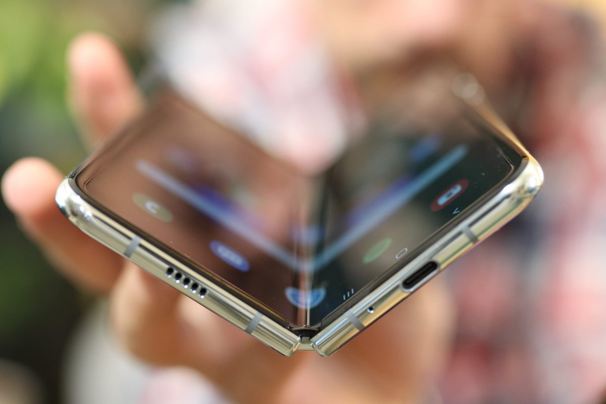 Samsung Galaxy Fold test ©© Pierre Crochart pour Clubic