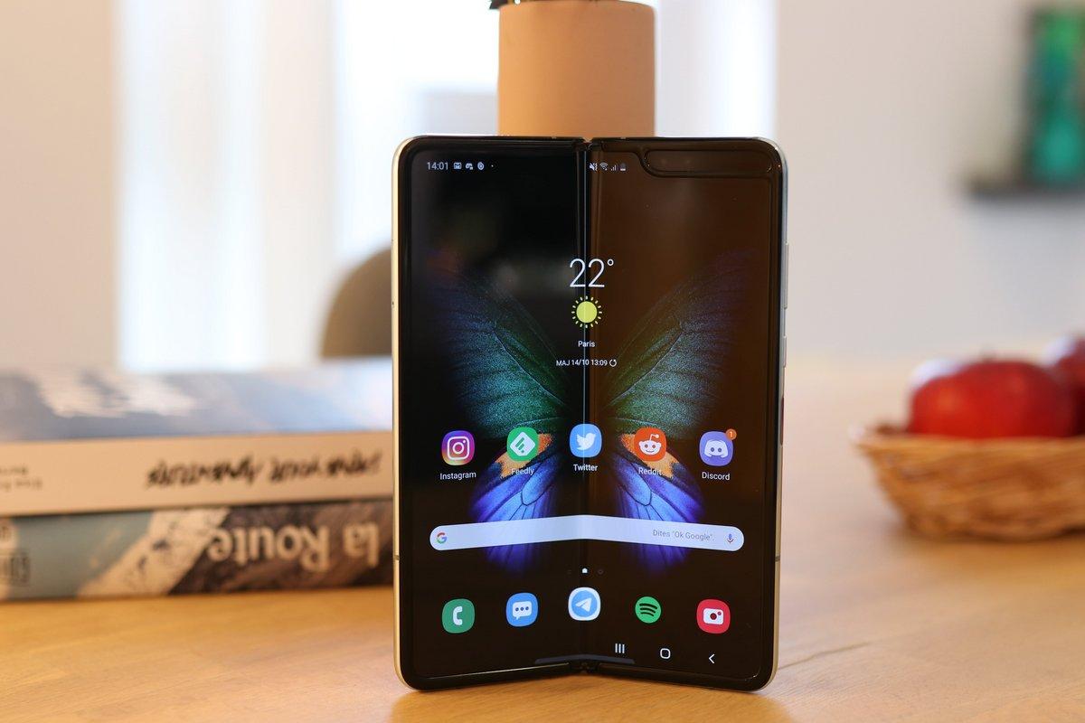 Samsung Galaxy Fold test