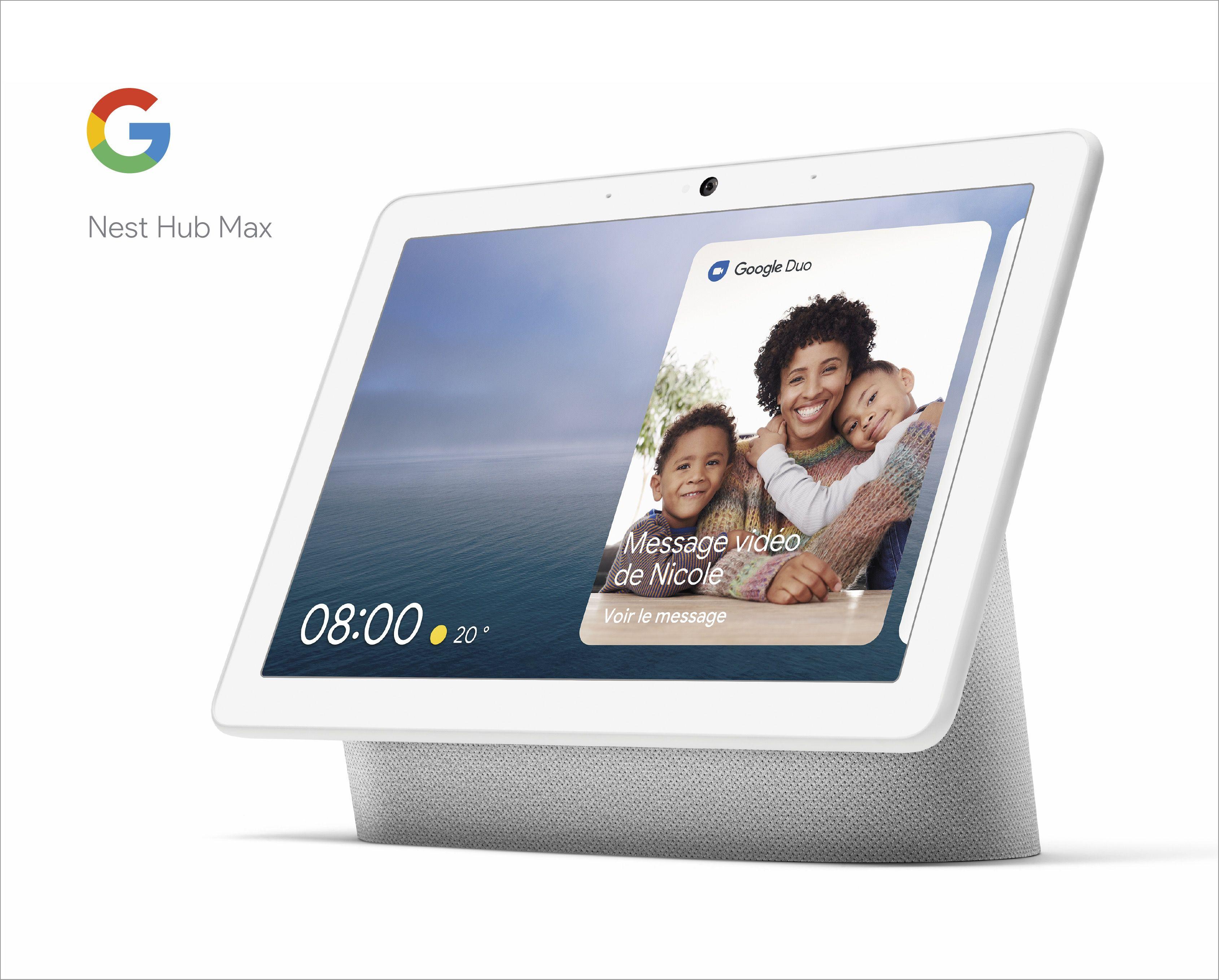 Nest Mini, Nest Hub Max : on fait le tour des nouveaux gadgets dévoilés par Google