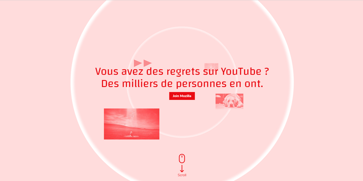 Youtube Regrets Mozilla