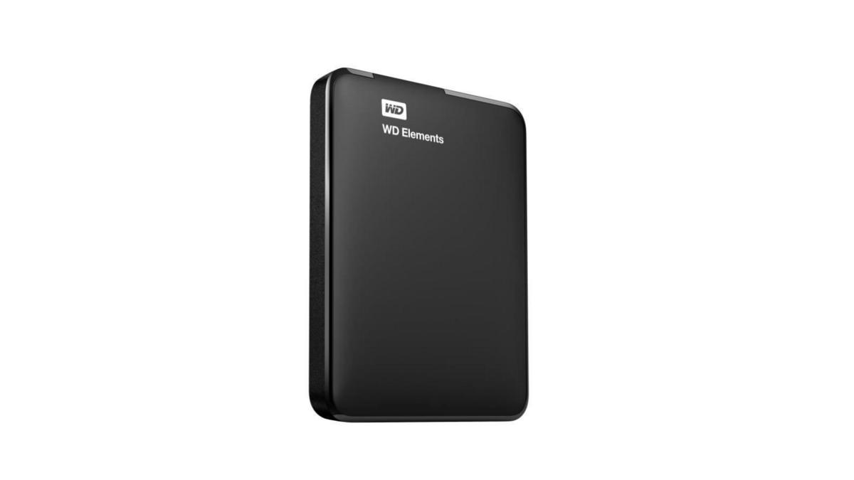 disque dur externe WD 4 To Elements