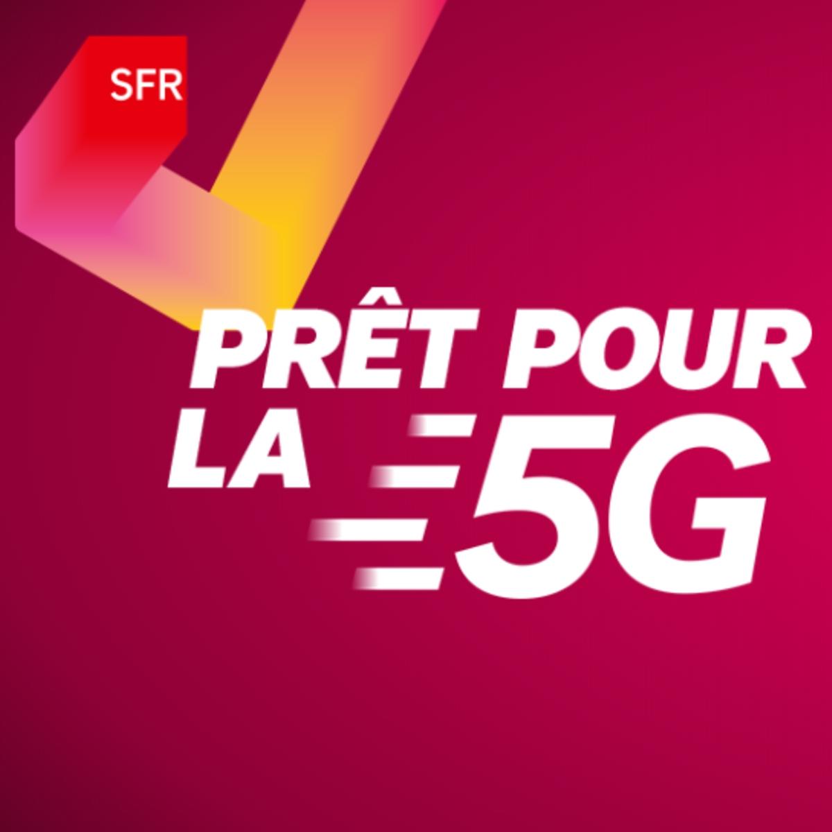 5G : SFR commercialise déjà des smartphones compatibles, issus de trois constructeurs