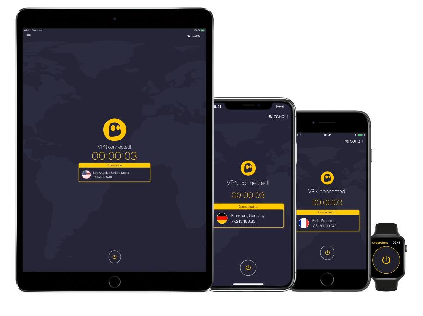 CyberGhost VPN & Sécurité WiFi