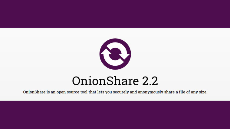 OnionShare 2.2