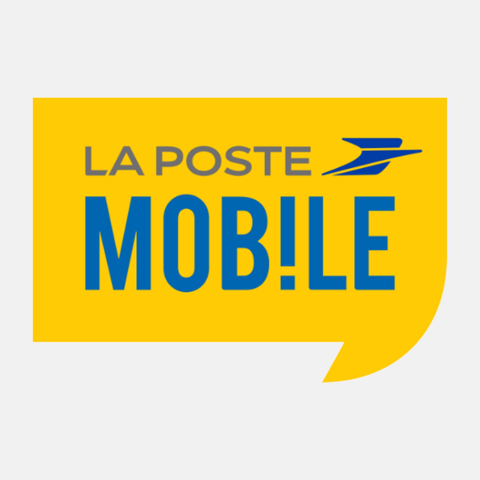 forfait mobile La Poste