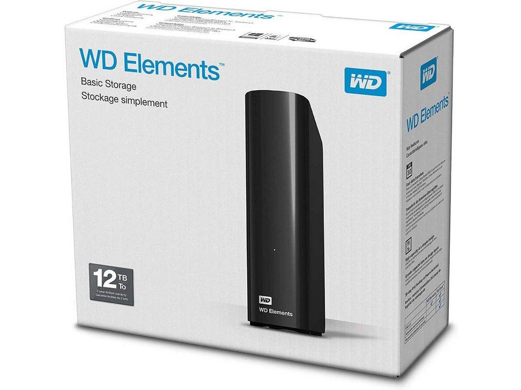 Plus de problème de stockage avec WD Elements 12 To à 225,99€ au lieu de 265,99€