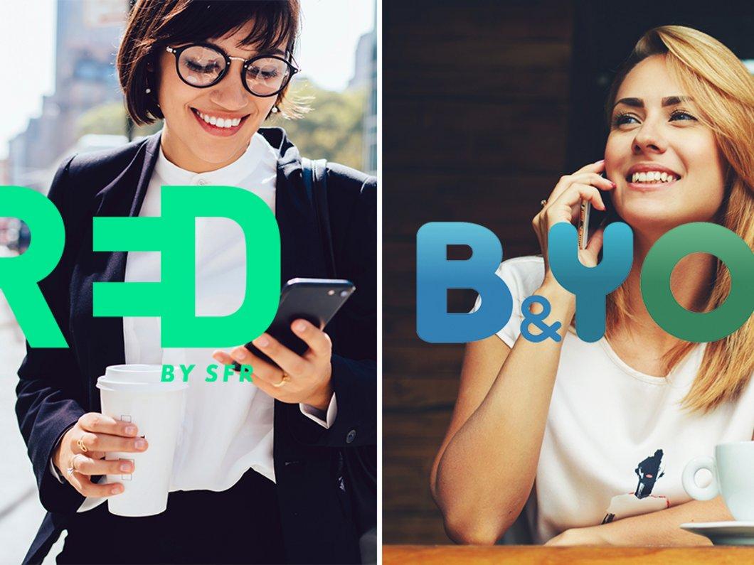 RED by SFR et B&You, quel est le meilleur forfait mobile ? Voici notre comparatif
