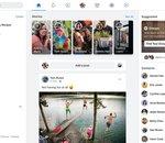 La nouvelle interface de Facebook et son dark mode proposée à certains utilisateurs