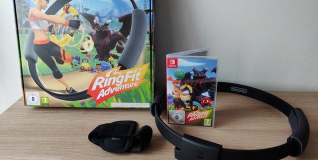 Test RingFit Adventure : le jeu qui va vous faire suer... mais vous allez adorer ça !