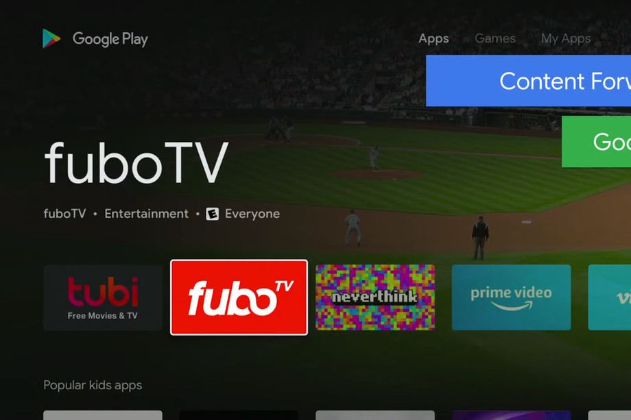 Play Store Android TV