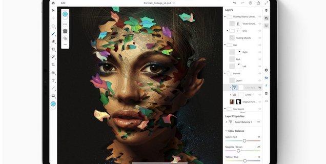 Toujours prévu pour 2019, Photoshop pour iPad sera suivi par la version complète d'Illustrator