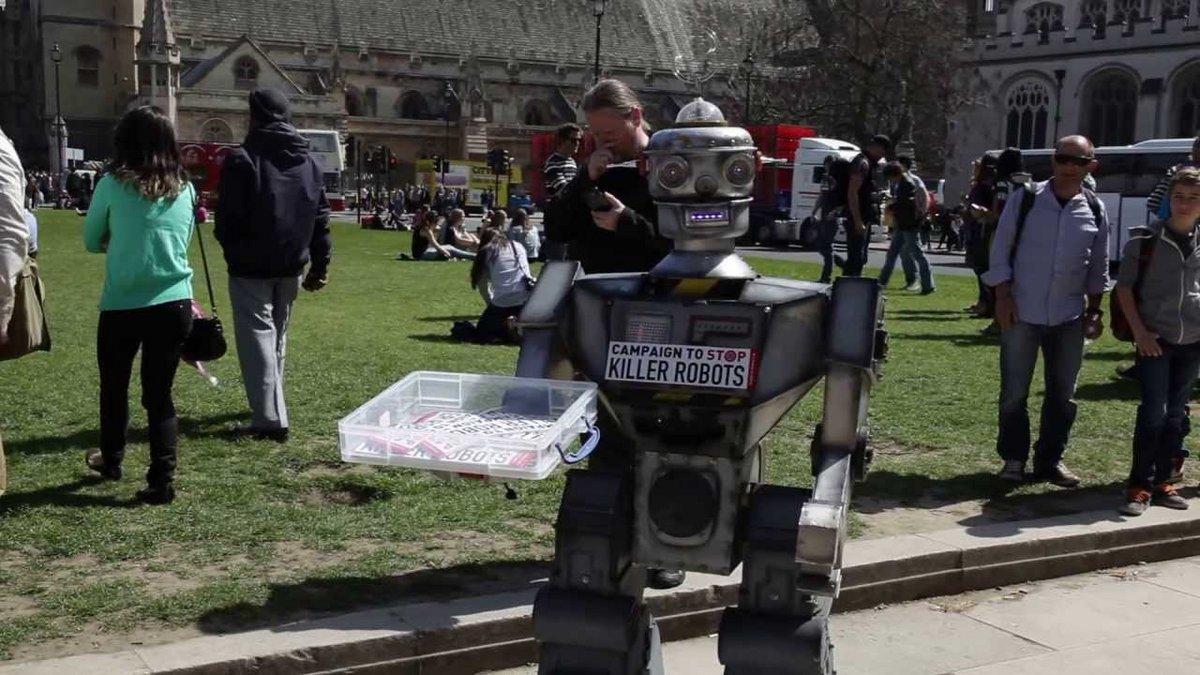 David Wreckham robot contre robots tueurs