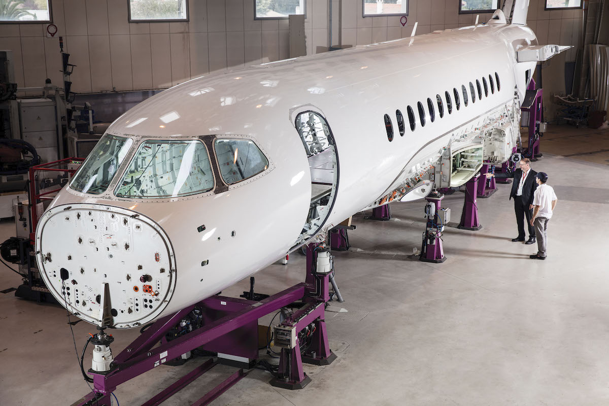 Falcon 6X Dassault Aviation