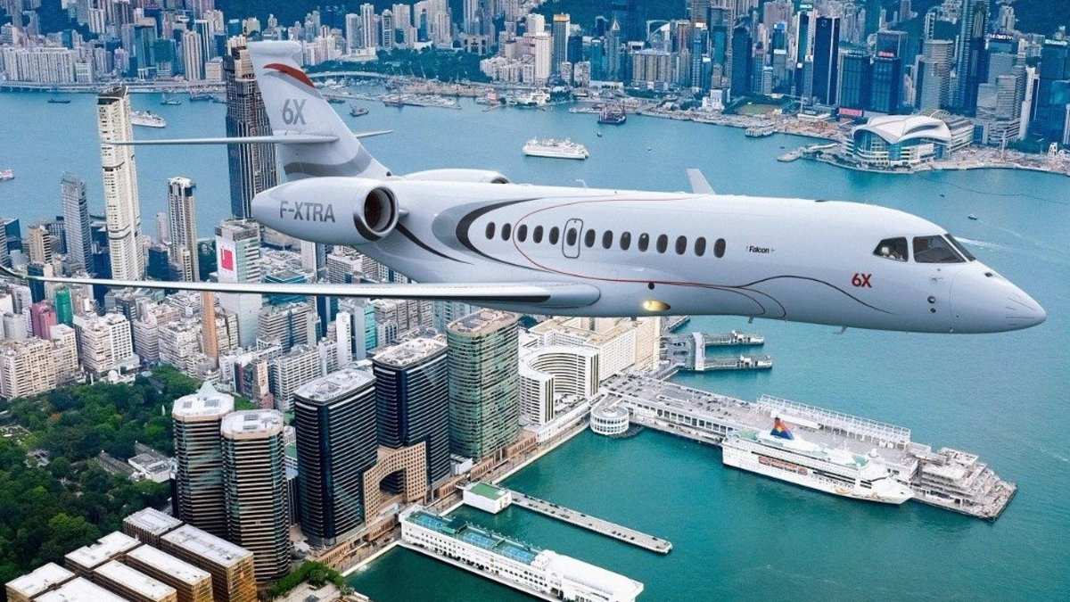La production du futur Falcon 6X de Dassault avance à