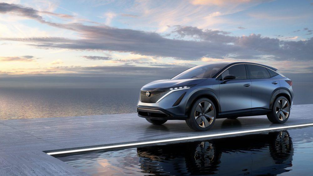 Tokyo Motor Show : Nissan a dévoilé son crossover électrique Ariya Concept