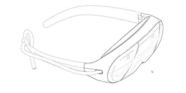 Un brevet Samsung dévoile le design d'un futur casque de réalité augmentée
