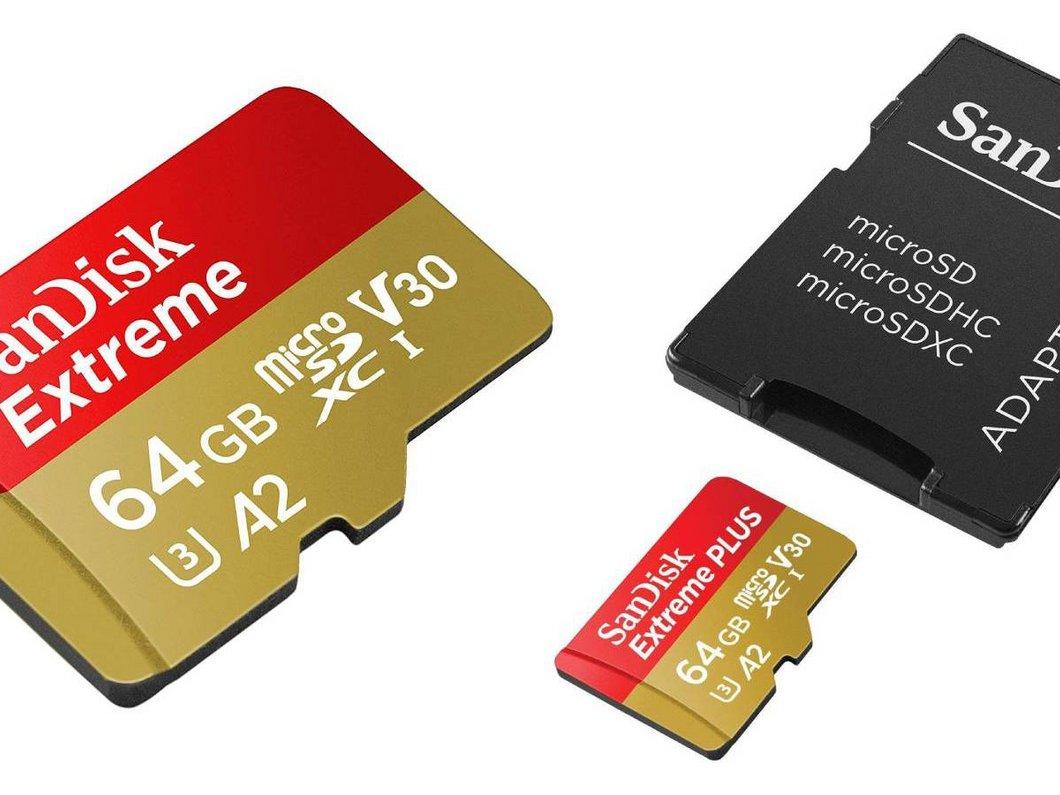 Profitez des cartes microSD SanDisk à prix réduit chez Amazon