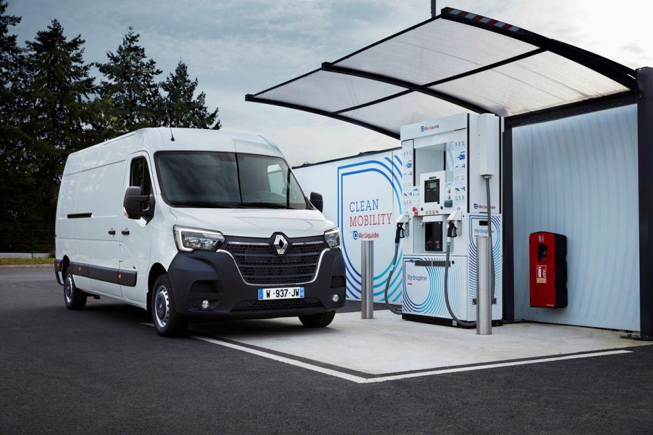 Renault Master ZE electrique