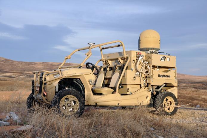 Buggy anti drones Raytheon