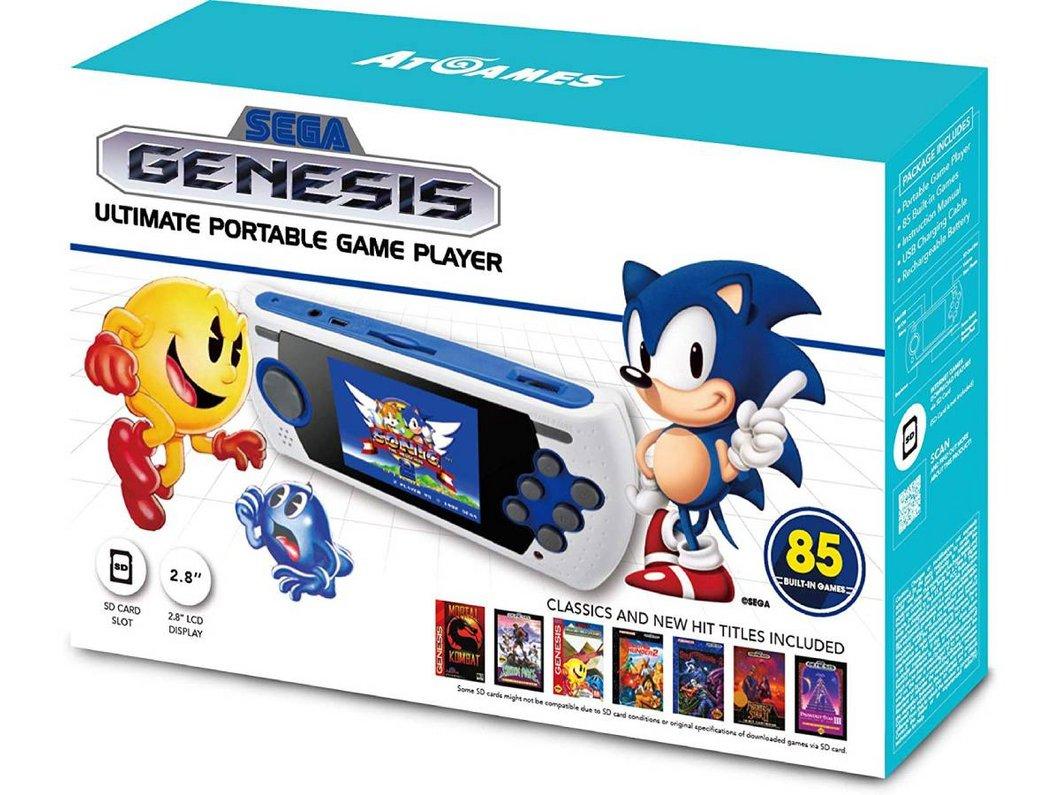 Console portable Sega avec 85 jeux dont Sonic et Pac-Man à moins de 30€ chez Amazon