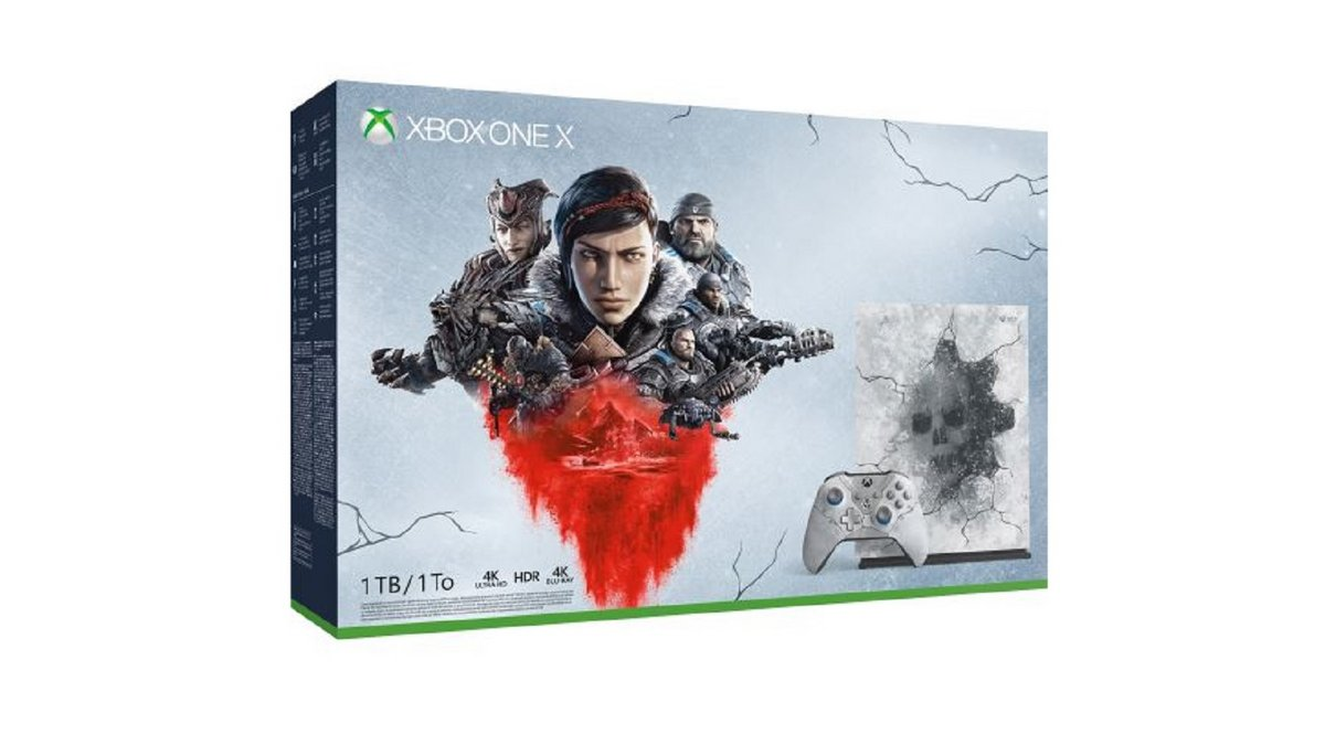 Pack Xbox One X Gears 5