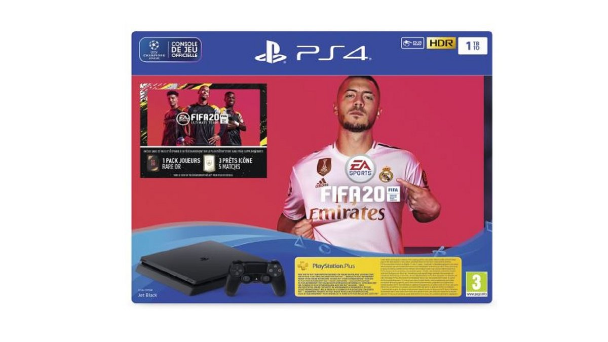 Pack PS4 FIFA 20