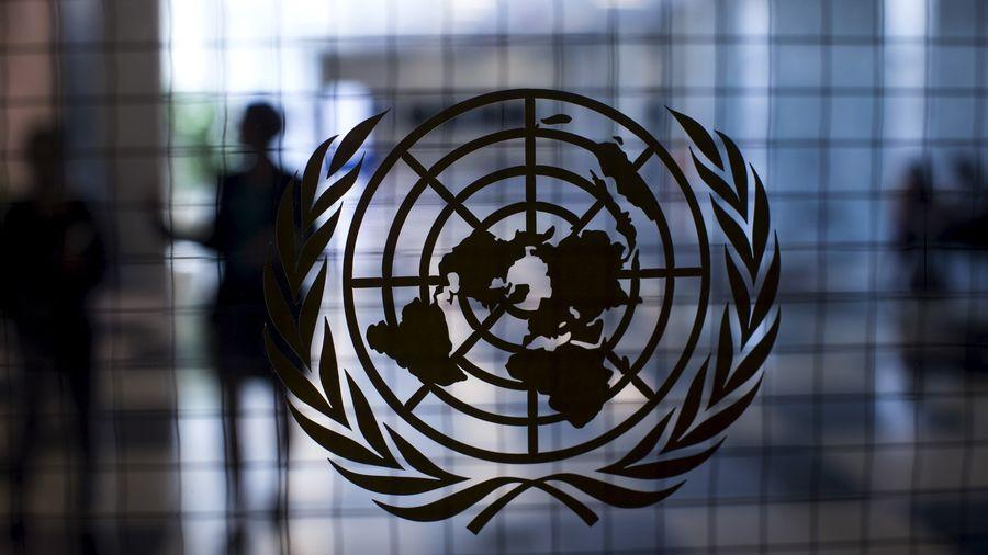 Nations Unies logo