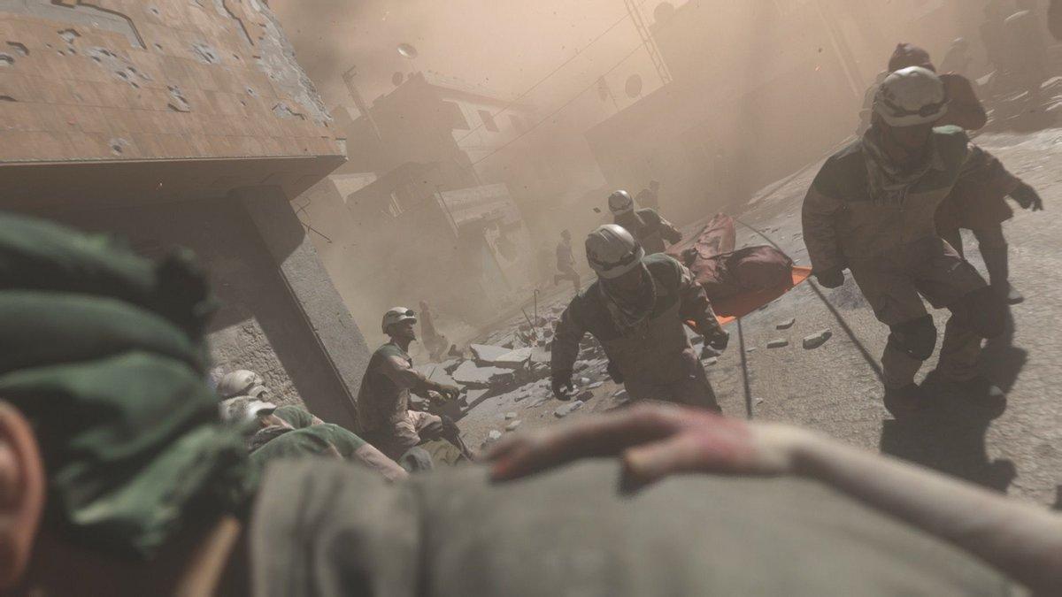 Call of Duty : Modern Warfare test