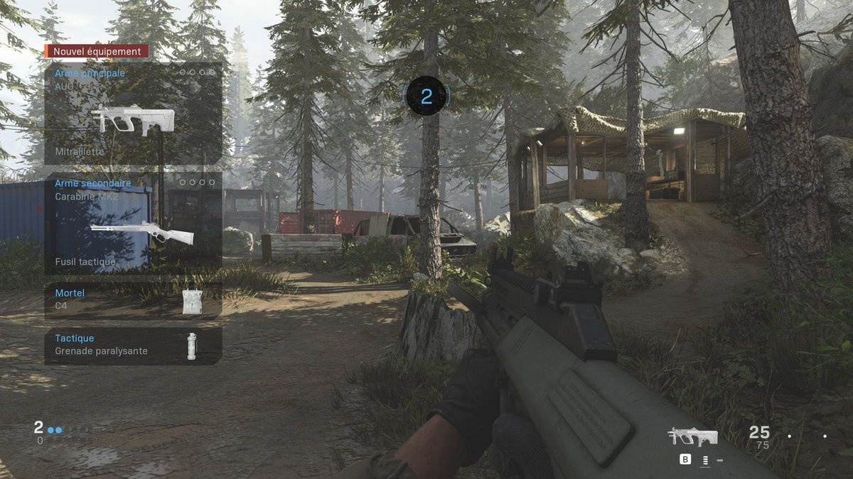 Call of Duty : Modern Warfare test