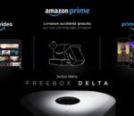 L'abonnement Amazon Prime est désormais inclus dans le forfait Freebox Delta