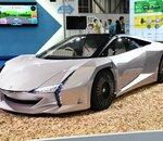 Au Tokyo Motor Show, le Japon présente son premier véhicule écologique en nanocellulose
