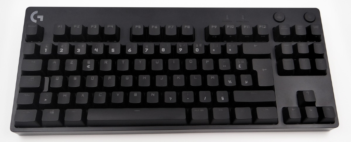 Test clavier Logitech G Pro X_2