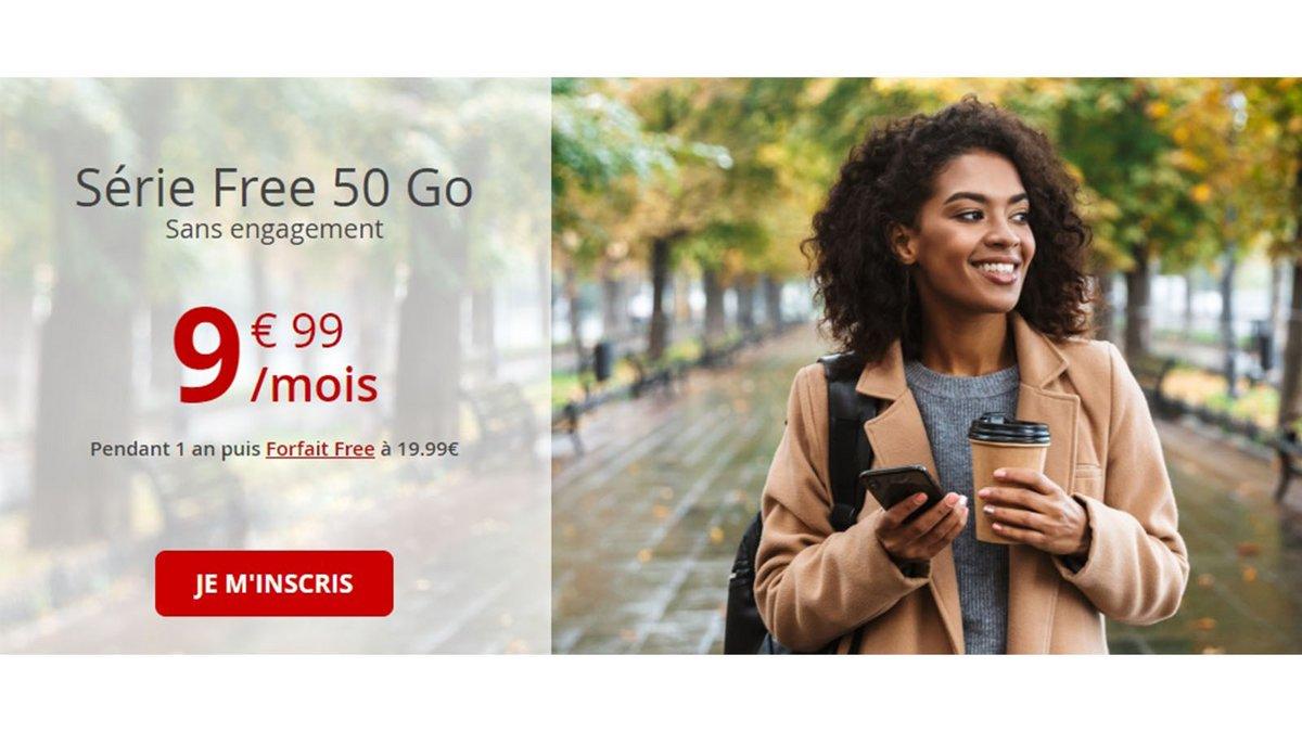 free 50go