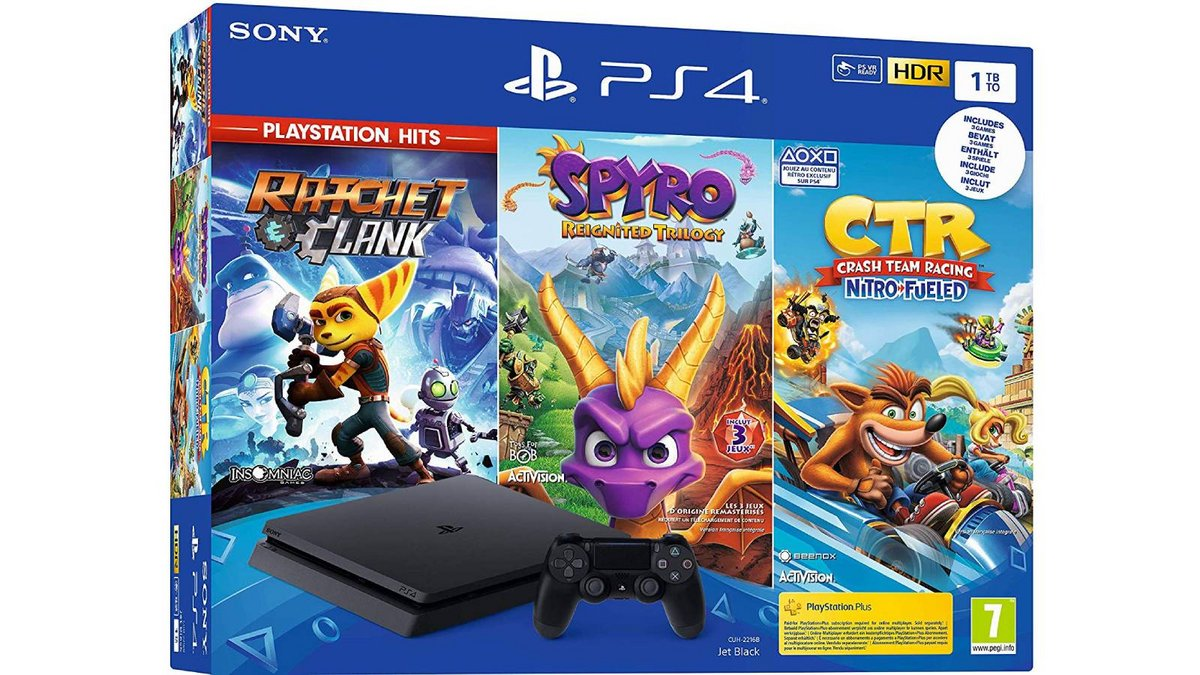 PS4 Slim 1 To Crash Team Racing Spyro Reignited Trilogy Ratchet Clank.jpg