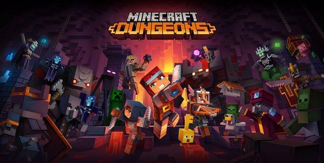 Test de Minecraft Dungeons: un donjon sans mystère