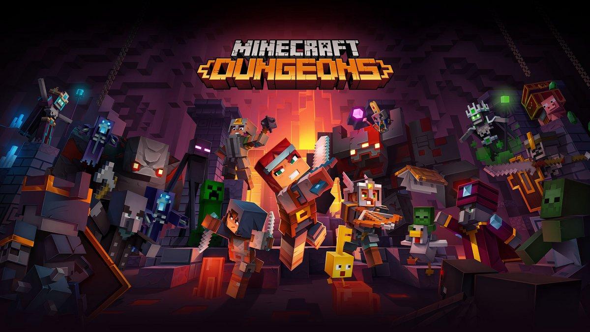 Minecraft Dungeons Notre Preview à La Paris Games Week