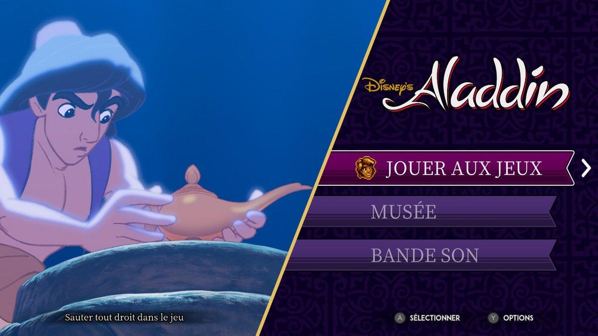 Aladdin Roi Lion