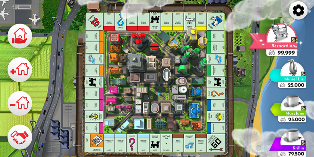 Monopoly mobile