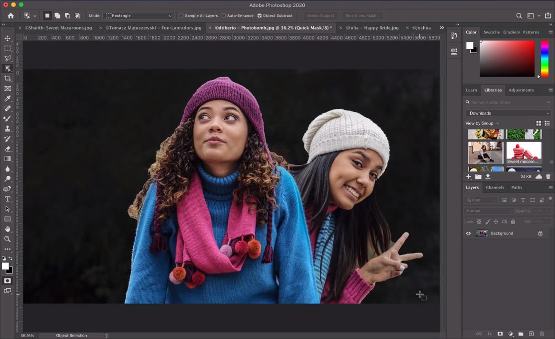 Détourage Photoshop CC