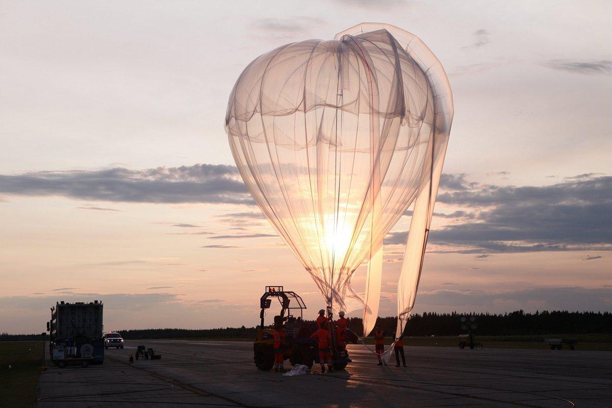 Ballon Stratéole-2 © CNES/GABORIAUD Romain, 2018