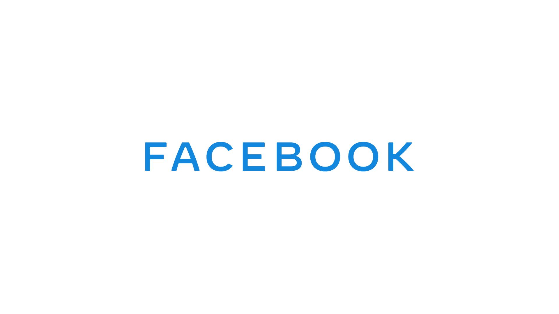 Facebook dévoile son nouveau logo