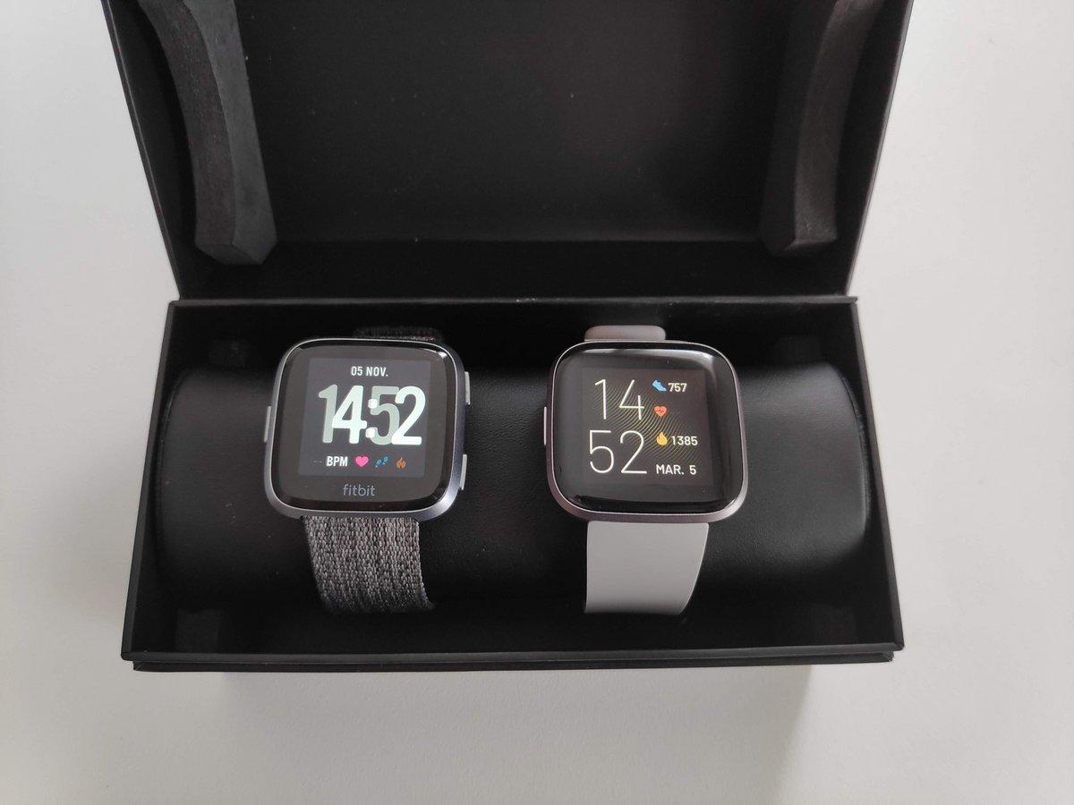 Fitbit Versa 2 - Comparaison modèles Versa