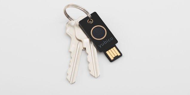 Bientôt une clé biométrique chez Yubico, la YubiKey Bio